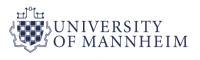 Universtity of Mannheim logo