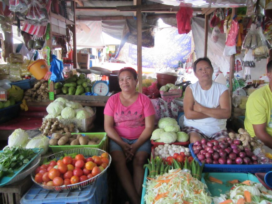 Fruits and vegetables shops in the Philippines