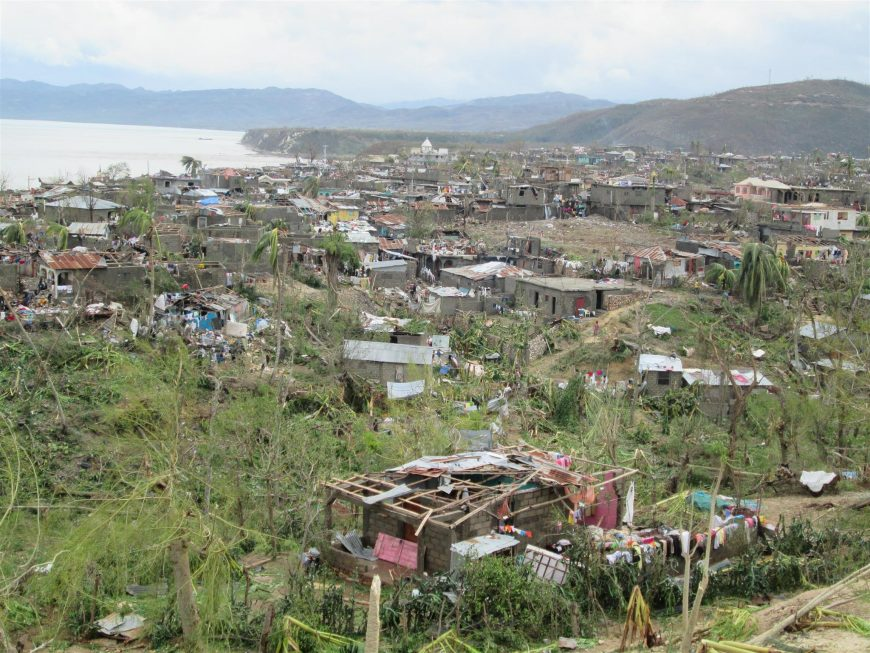 Jeremie post ouragan Haiti