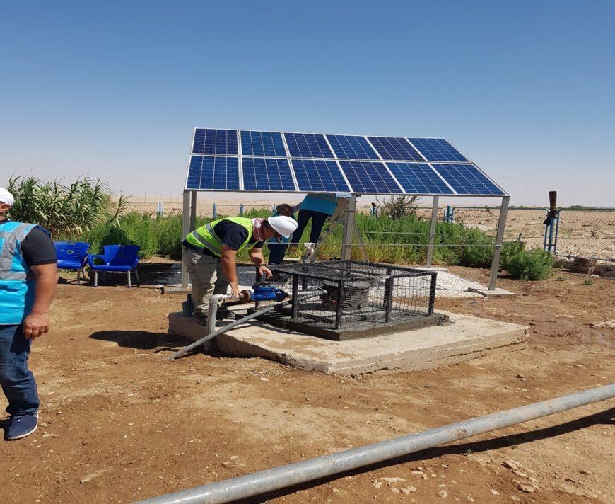Syria, solarization, water