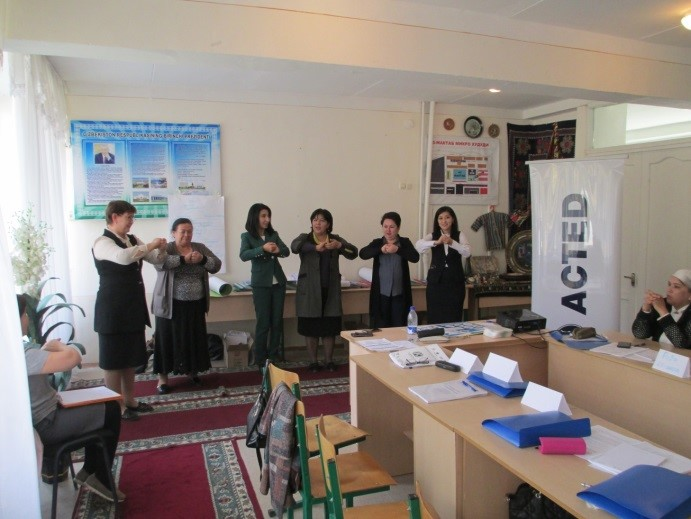 hygiene for education, uzebekistan