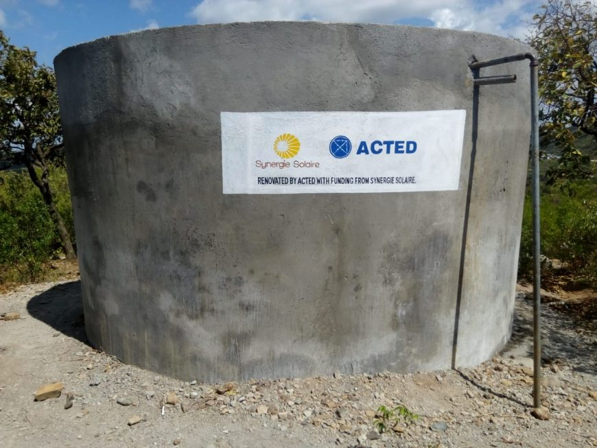 Water Tank in Churo, Kenya