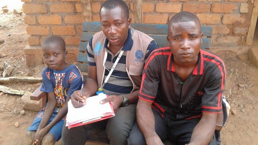 Nazère, 38 ans, Gardien pour une ONGI à Tagbara