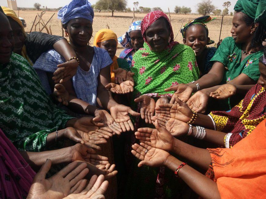 Groupement de promotion féminine de la commune d'Oudallaye qui a pour objectif de promouvoir les initiatives sociales