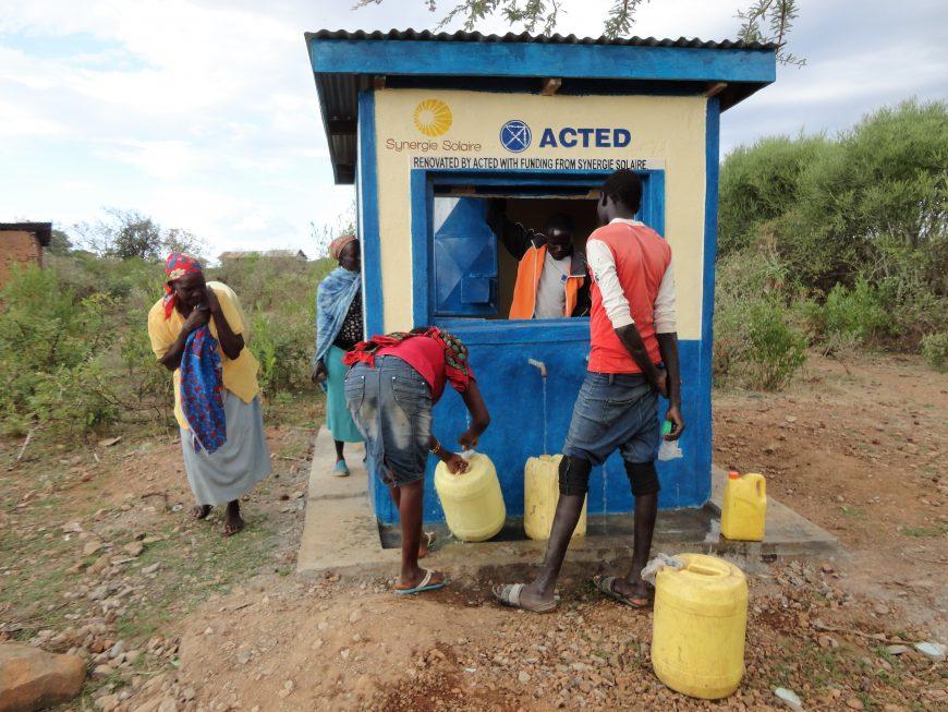 Water kiosk, Kenya