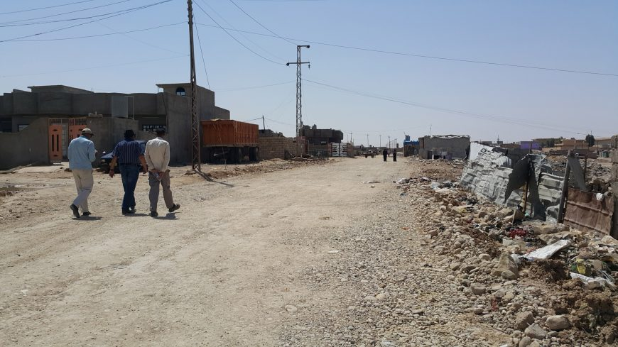 Road surfacing completed in Mosul