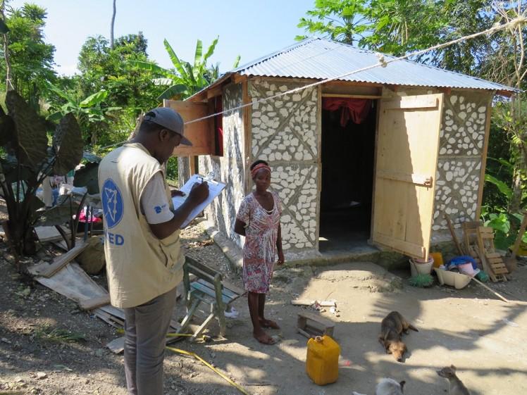 Nouvelle maison en Haiti