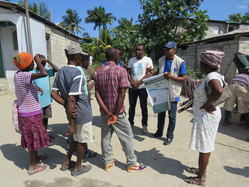 ACTED sensibilise les populations aux risques liés au choléra