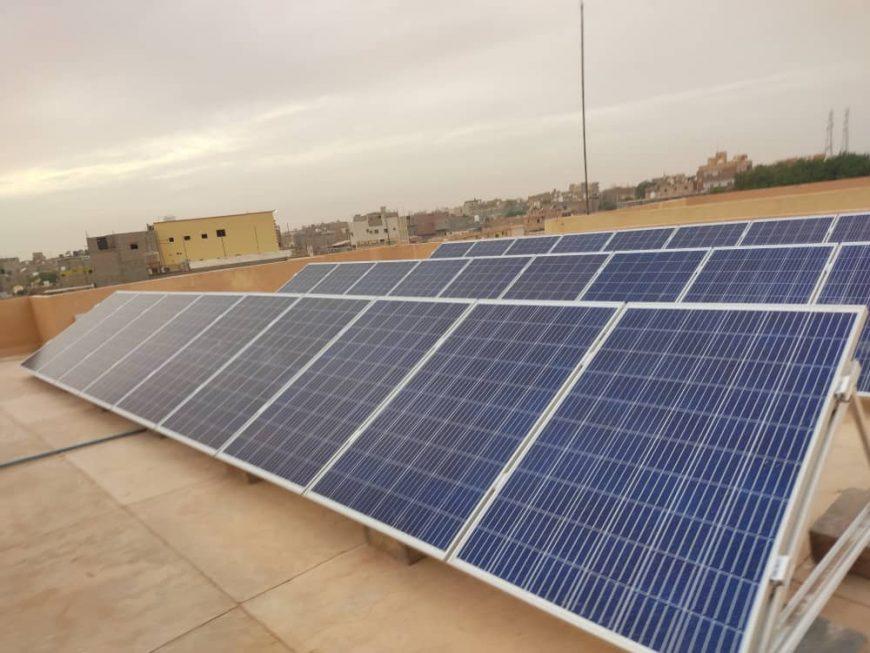 Libya solar pannels