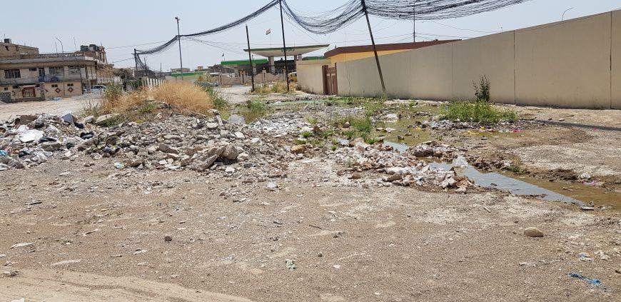 Iraq ACTED rehabilitates roads
